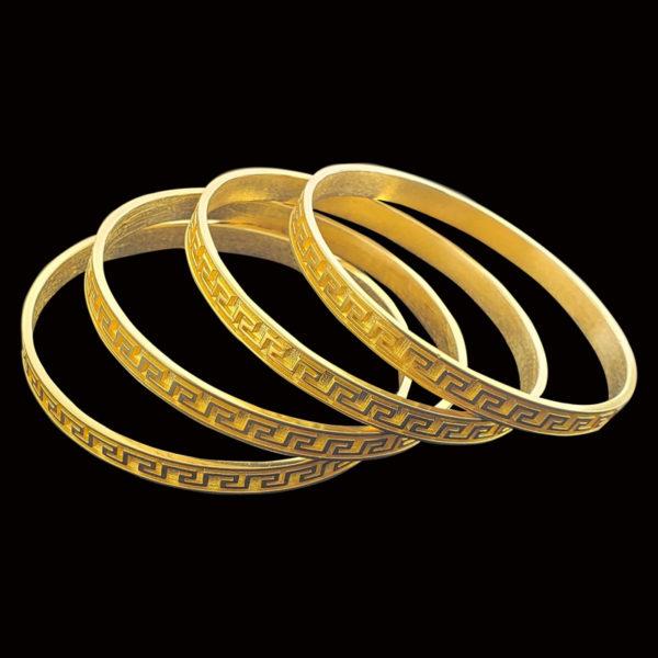21K Gold Bangles
