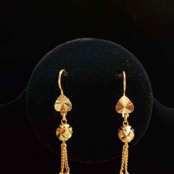 Leena's-Gold-Earrings